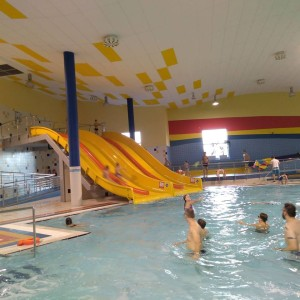 Předsilvestrovské plavání v Chomutově